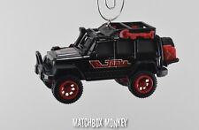 2014 Jeep Wrangler Unlimited Special Edition 4 Door Christmas Ornament Tonka XJ