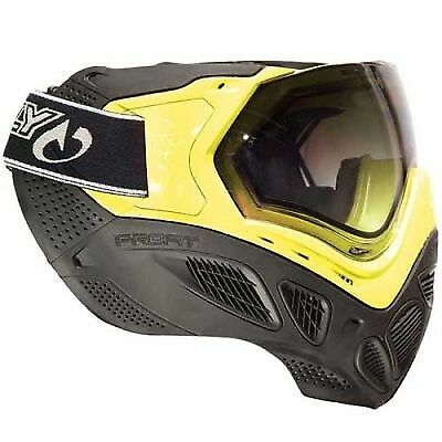 Sly Sly Sly Profit Paintball Maske Valken Edition neon Gelb 6c4356