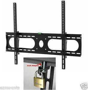 lockable tilt wall mount bracket fit 42 46 50 52 55. Black Bedroom Furniture Sets. Home Design Ideas