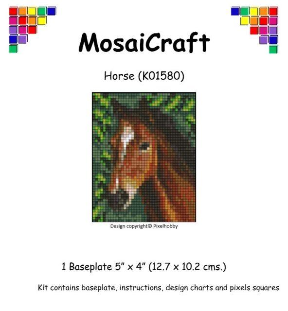 MosaiCraft Pixel Craft Mosaic Art Kit /'Tiles Blue/' Pixelhobby