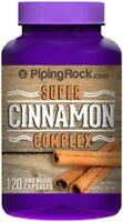 Super Cinnamon 1500mg + Chromium Picolinate & Biotin 1400mcg Supplement 120 Caps