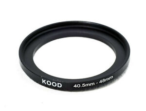 Kood Stepping Ring 40.5mm-48mm Step Up Ring 40.5 - 48mm 40.5mm to 48mm Ring UK