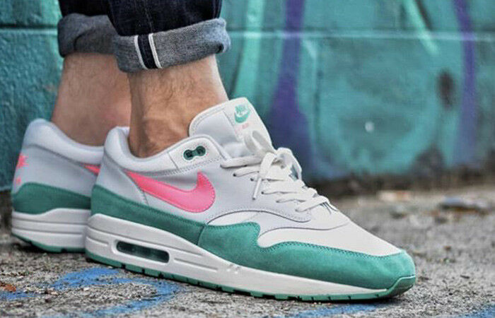 NIKE AIR MAX 1 SOUTH BEACH SUNSET PULSE WHITE RUNNING MENS Price reduction The most popular shoes for men and women