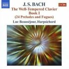 Bach: The Well-Tempered Clavier Book 1 (CD, Feb-2007, 2 Discs, Naxos (Distributor))