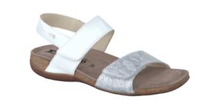 35 Sandale 42 Tailles Agave Confort Savana Blanc Mephisto Femmes Argent Soie Ozn7xRq