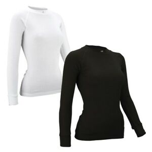 sale retailer 67688 86ba6 Thermoshirt Damen Thermo Shirt Funktionsshirt langarm weiß ...