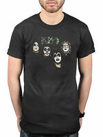 Official KISS 1974 T-Shirt Destroyer Love Gun Gene Simmons Asylum Alive! Monster