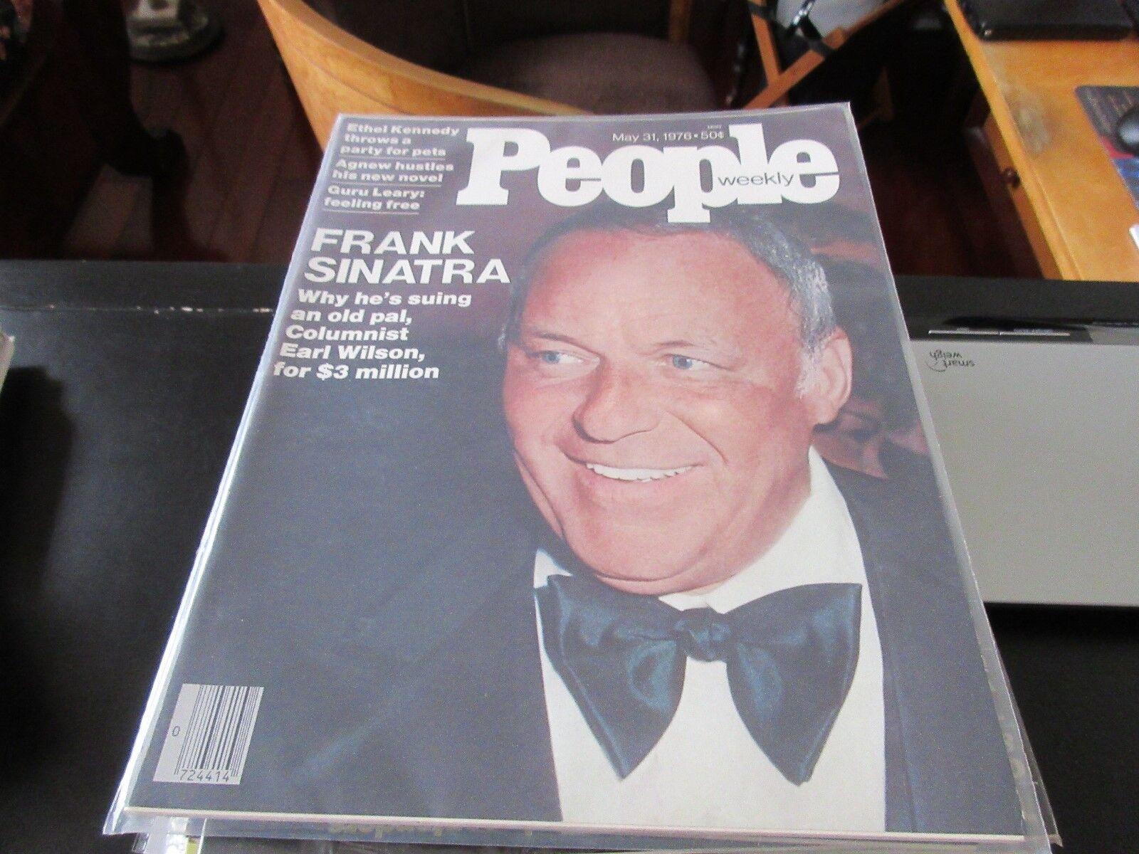 People Weekly , May 31 ,1976 , Frank Sinatra , Ethel Ke