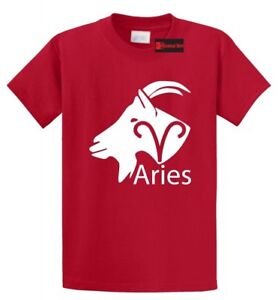 Details about Aries Horoscope T Shirt Love March April Birthday Gift  Holiday Gift Tee Shirt