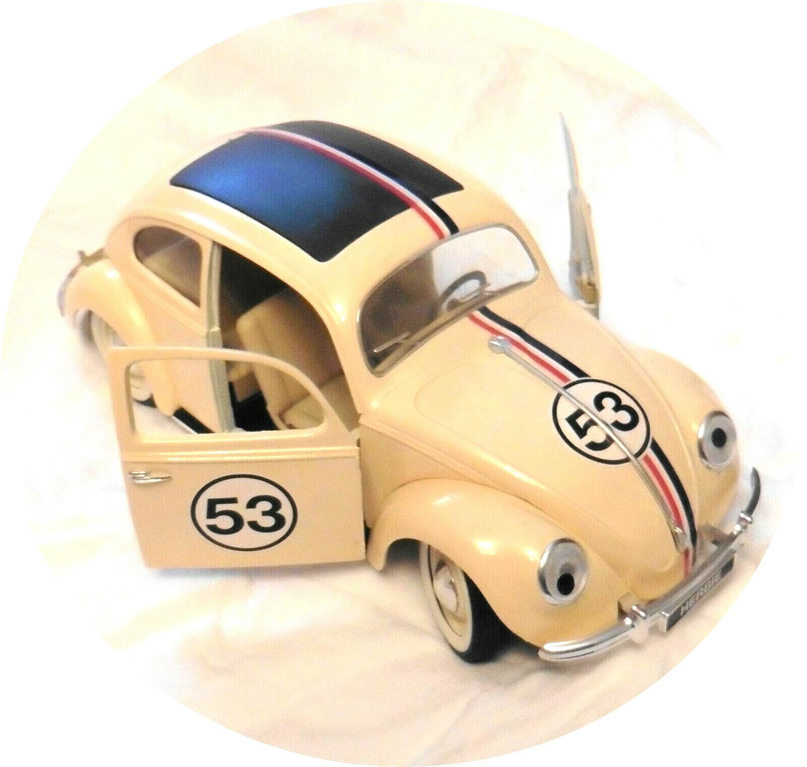 SOLIDO Volkswagen Käfer als HERBIE, Maßstab ca. 1 17, (fast) neuwertig