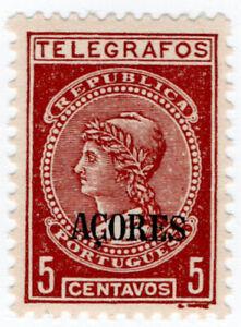 I-B-Portugal-Telegraphs-Azores-5c-thick-paper