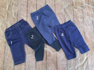 TOO-CUTE-Newborn-Sitter-Baby-Boy-Cotton-Denim-Pants-Size-0-3m-6-9m-Photo-Prop