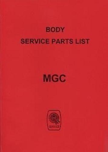 AKD5067 catalogo BOOK LIBRO MG C 1968 Car Parts manuale per il corpo PUBBLICAZIONE N