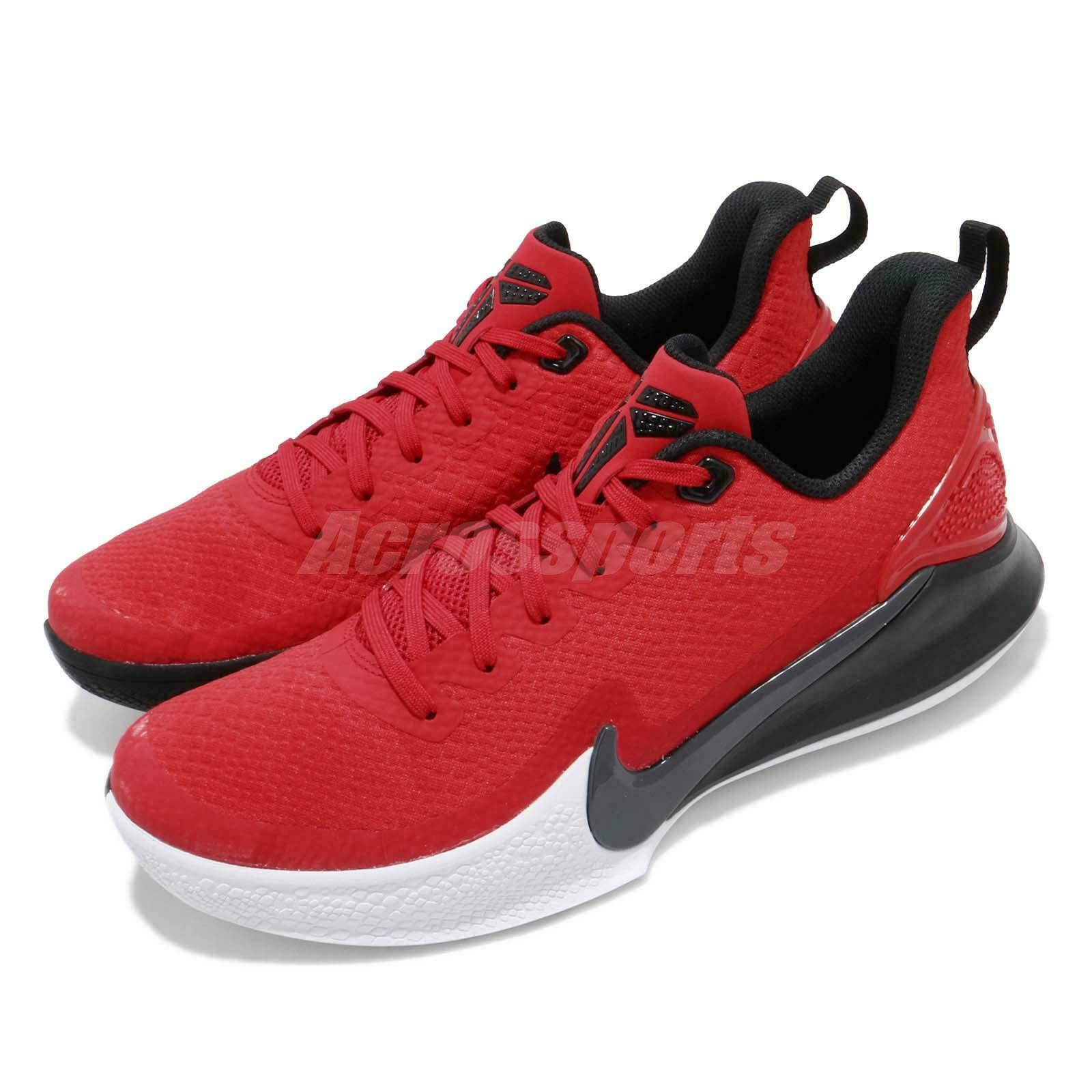 Nike Mamba Focus EP Kobe Bryant Red Black White Men Basketball shoes AO4434-600