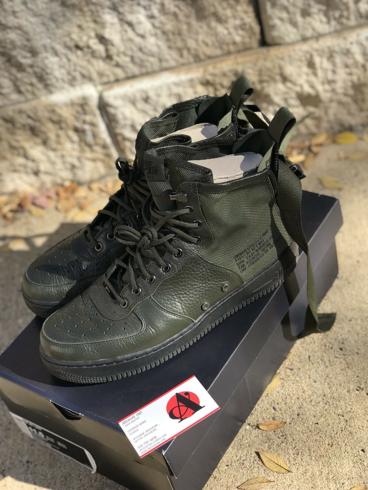 nike SF Air Force 1 Mid Special Forces Black Dark Hazel US MENS SIZES 917753-002 The most popular shoes for men and women