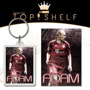 bag tag any name Personalised Arjen Robben keyring