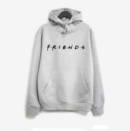 Women Hooded Warm Print FRIENDS Tops Pullover Sweatshirt Hoodie Jumper Ladies