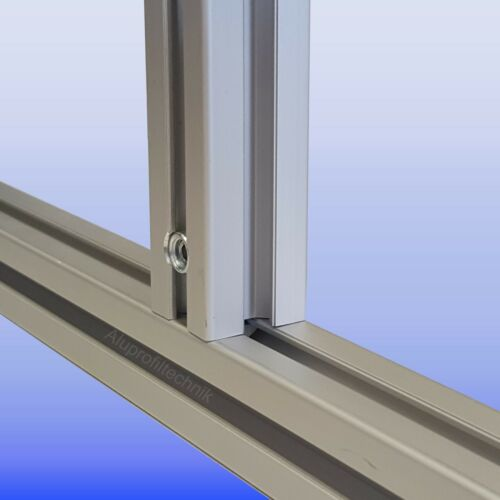Profilverbinder Schnellspannverbinder  0° Nut 10  Bosch Raster für Aluprofil