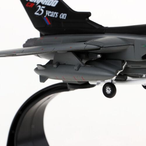 1//100 Panavia Tornad Fighter Diecast Alloy Militärische Flugzeuge Flugzeug