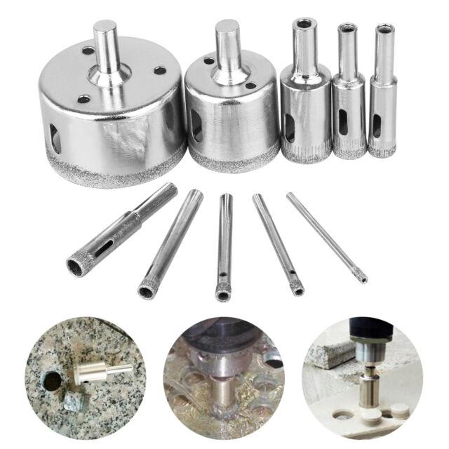MLH-MLH 10x Diamond Saws Drill Glass Marble Ceramics Drill