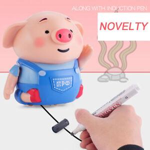Befolgen-Sie-alle-Strichzeichnungen-Magic-Pen-Inductive-Cute-Pig-Mit-Magic-Pen