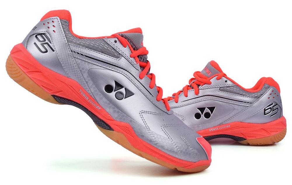 Yonex Badminton Zapatos Unisex Cojín de Alimentación 65EX Plata Raqueta SHB-65EX Nuevo Con Etiquetas De Regalo