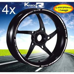 SET-PROFILI-CERCHIO-ADESIVI-BICOLORE-BMW-K1200R-K1200-R-WHEEL-STRIPS-BIANCO-ARGE