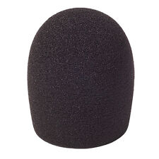 6mm - 9mm DIAMETER FOAM WINDSHIELD DUST CAP COVER FOR MINI TIE LAPEL MICROPHONES