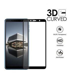 3D-Hartglas-fuer-Samsung-Galaxy-A7-2018-Displayschutz-9H-Schutz-Glasfolie
