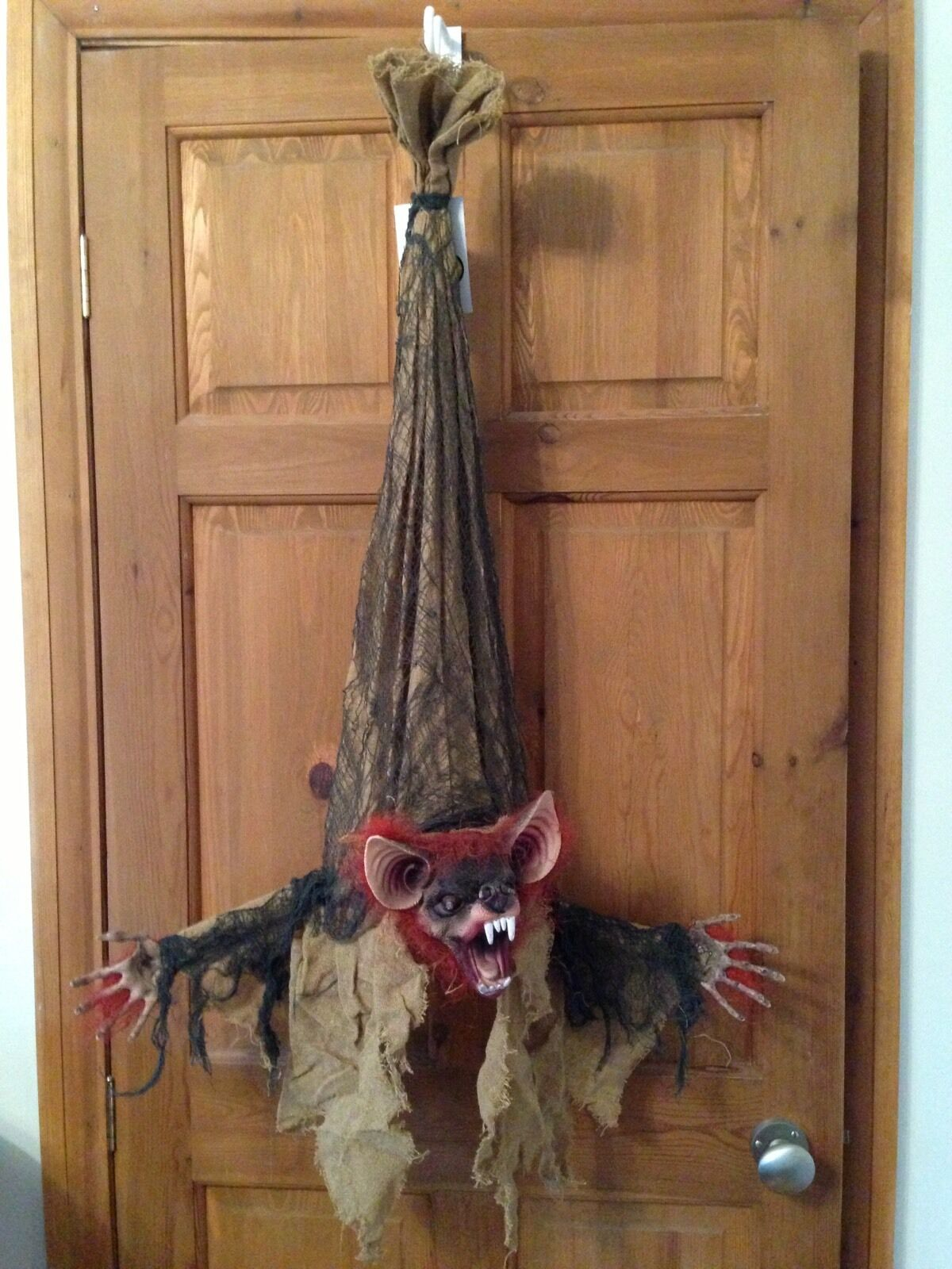 2 X Halloween Scary Hanging Light Up Moving Moving Moving Bat  Prop 794fdd