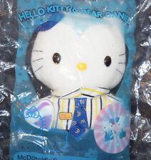 x2 Lot HELLO KITTY Plush Doll MCDONALDS Crew Wedding DEAR DANIEL Sanrio Toy New