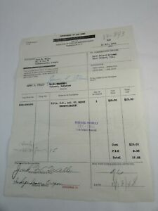 1948-US-War-Department-Infantry-Rifle-Receipt-Army-33938