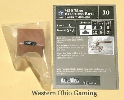 """Axis /& Allies Miniatures D-Day /""""Buffalo Soldiers/"""" #18//45 NEW A/&A Minis"""