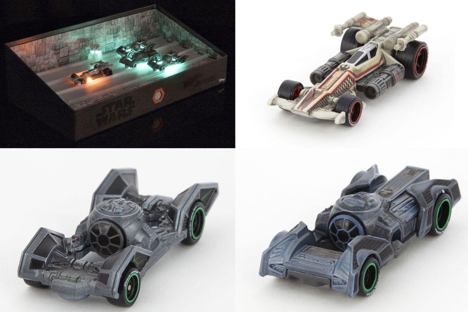 SDCC 2016 Mattel Exclusive  Hot Wheels - Star Wars Trench Run Car Ships, NEW MIB