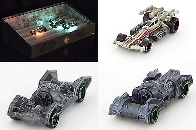 SDCC 2016 Exclusive Mattel Star Wars Carships Trench Run Hot Wheels Cars Mint