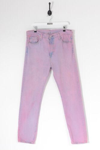 Vintage Levis 510 Slim Fit Jeans Pink (W36 L32)