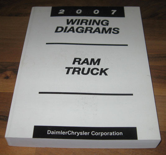 2007 Dodge Ram Truck Electrical Wiring Diagrams Manual St