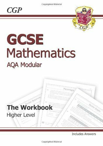 1 of 1 - GCSE Maths AQA Workbook (Including Answers) By CGP Books