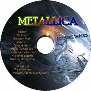 METALLICA-GUITAR-BACKING-TRACKS-CD-BEST-GREATEST-HITS-MUSIC-PLAY-ALONG-JAM