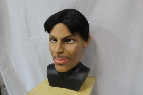 Maschera Di Porpora Rock Star completa testa Lattice Costume Music artista Celebrità Costume