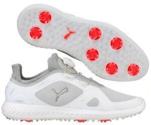 Puma-Golf-Ignite-PWR-Adapt-Disc-BOA-Golf-Shoes-RRP-120-ALL-SIZES-White