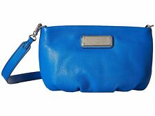 NWT Marc by Marc Jacobs New Q Percy Crossbody Clutch Bag Neptun BLUE