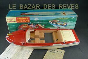 HORNBY MECCANO. Bateau ALCYON canot de course. + Boite.