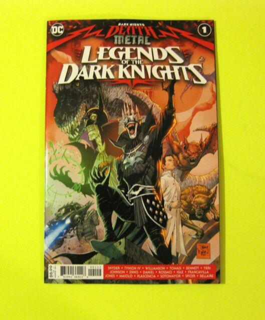 Dark Nights Death Metal Legends of the Dark Knights #1 DC 2nd Print ROBIN KING