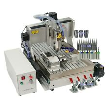 Usa Stock 110v Cnc 6040 Wood Router 22kw 4 Axis Metal Engraver Milling Machine