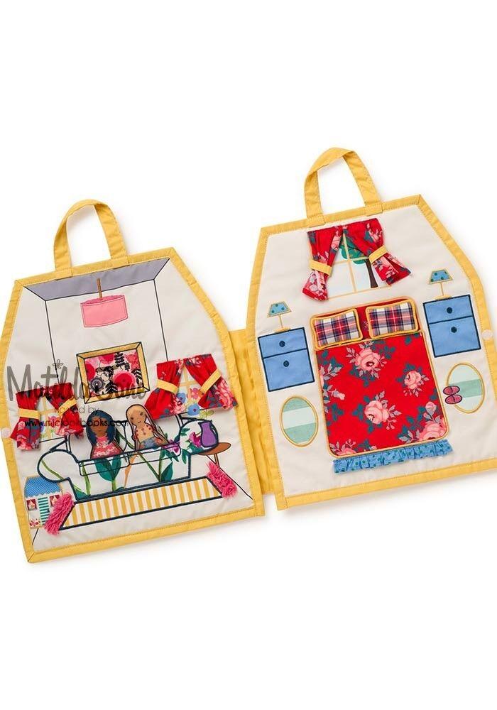 Matilda Jane Make Believe No Place Like Home toy doll Set  EUC