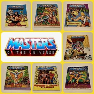 Masters-Of-The-Universe-Mini-Comic-Multi-Listing-MOTU-Mattell-He-Man-Skeletor