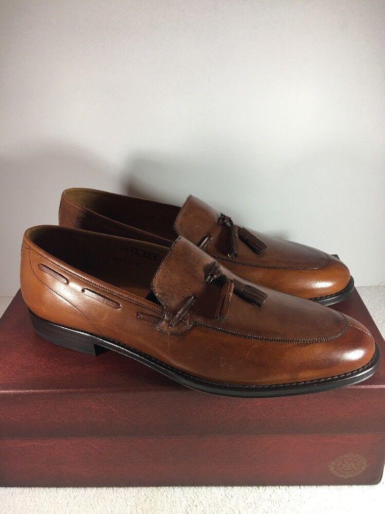 Mezlan Vero Cuoio Tassel Slip On Liafers Size 10M NEW Greensboro Brown 77753