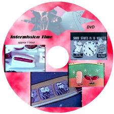 1950's-60's DRIVE IN MOVIE Theatre Intermission Films Video DVD