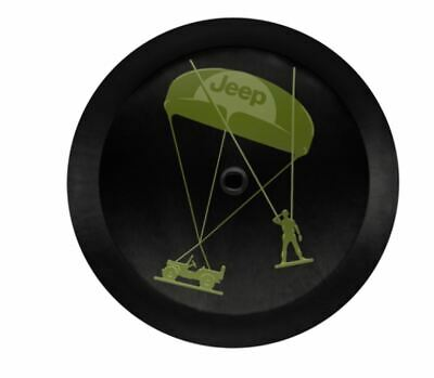 Jeep ® Wrangler Jl Originale Mopar ® Esercito Uomini Copertura Ruota Di Scorta Nuovo Paracadute Willys-